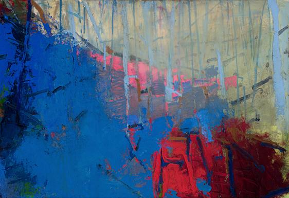 Brian Rutenberg, 'Orchard 4', 2017, TEW Galleries