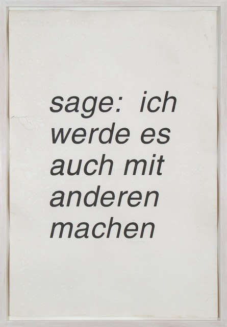 , 'Sage,' 2006, Galerie Isabella Czarnowska