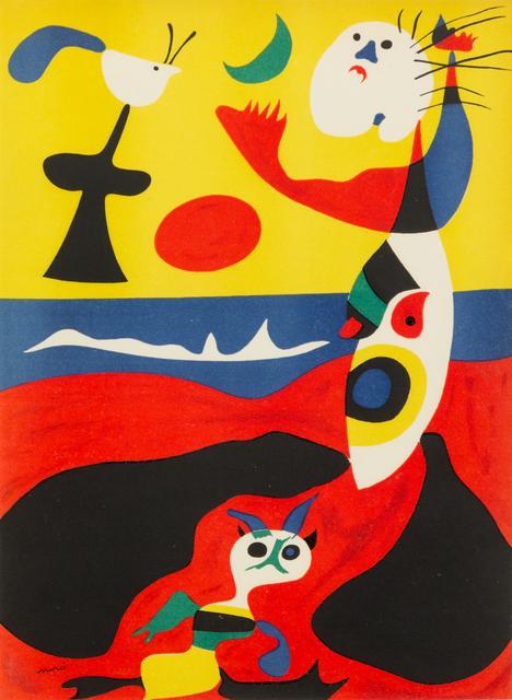 Joan Miró, 'L'ete', 1938, Hindman