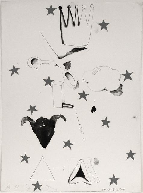 , 'Composition (Hamantash),' 1966, Sragow Gallery