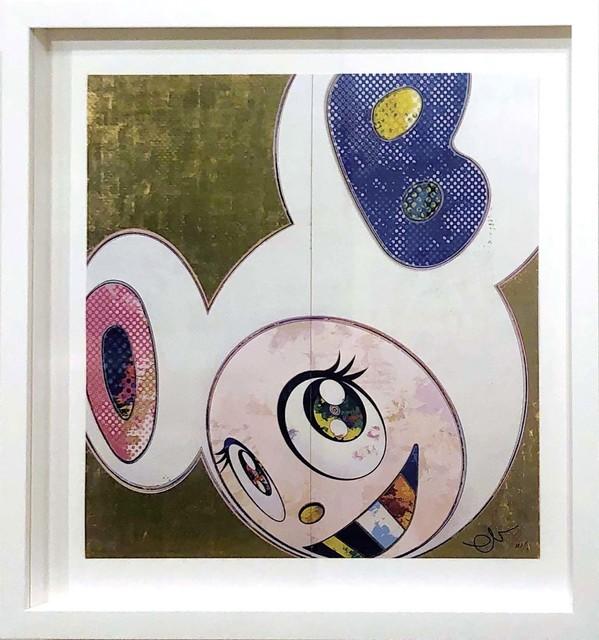 Takashi Murakami, 'DOB In Pure White Robe (Pink & Blue)', 2013, DTR Modern Galleries