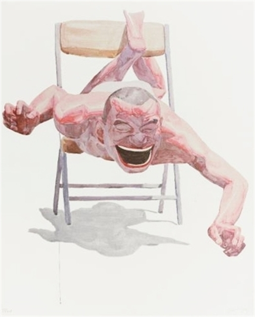 , 'When you smile, your shadow laughs ,' 2006, Burning in Water