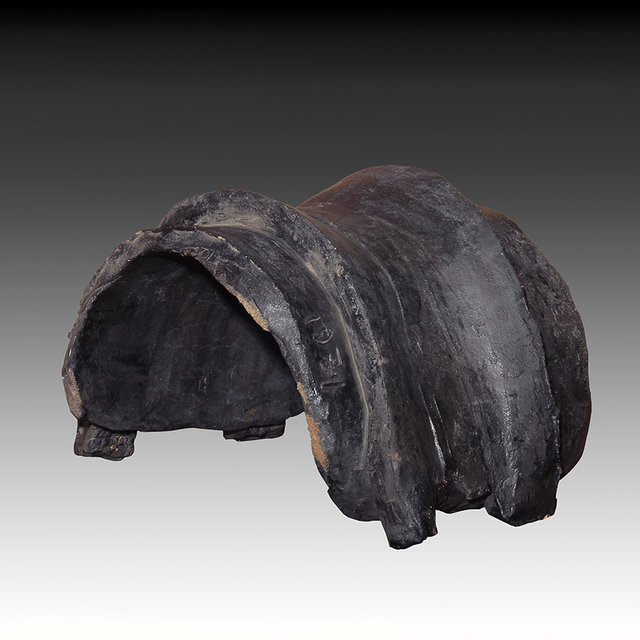 , 'Black Archaic Saddle,' 1971, Foster Gwin Gallery