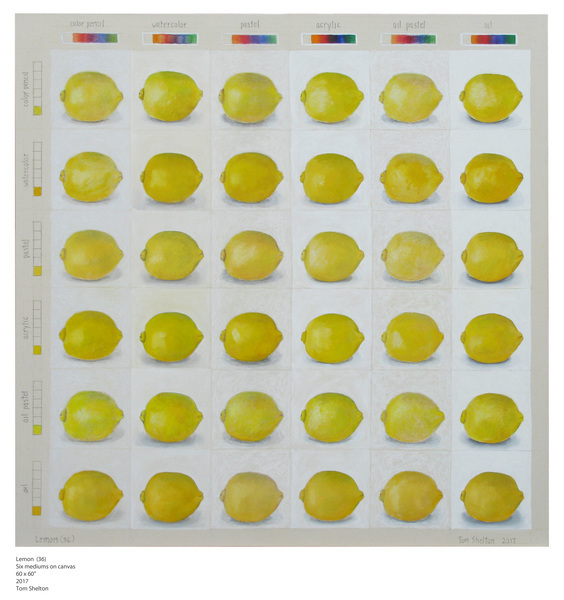 , 'Lemon (36),' 2017, David Barnett Gallery