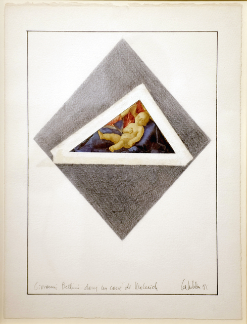 , 'Giovanni Bellini dans le carré de Malevich,,' 1981, espaivisor - Galería Visor