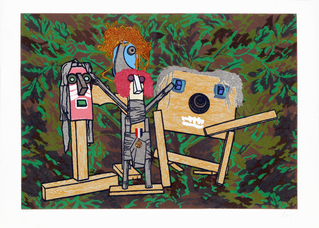 Enrico Baj, 'Meeting from the Furniture Series', 1988, RoGallery