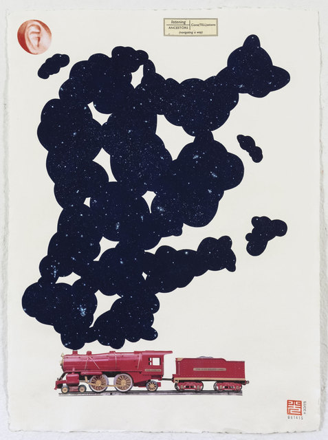 , 'Cons(tell)ations,' 2015, Estrada Fine Art