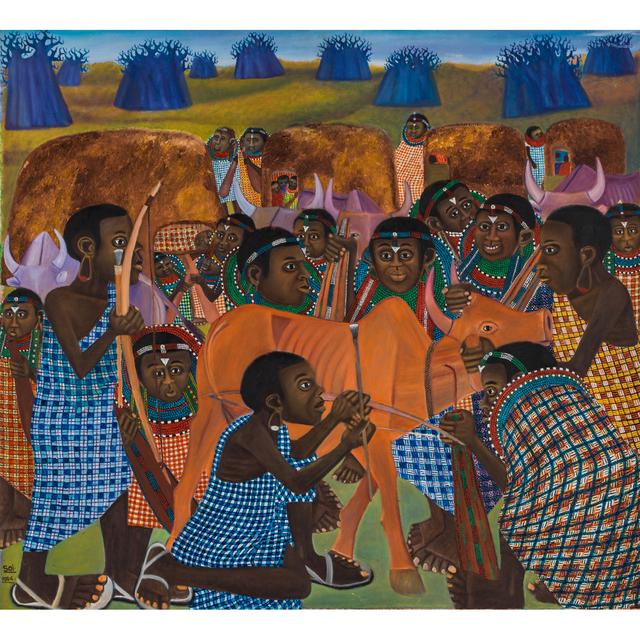 Ancent Soi, 'Maasai Ceremony', 1994, PIASA
