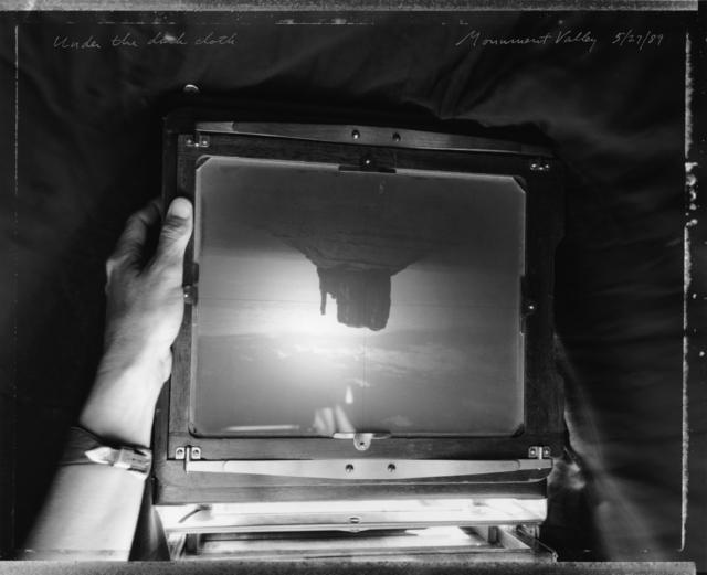 , 'Under the Dark Cloth, Monument Valley, 5/27/89,' 1989, Etherton Gallery