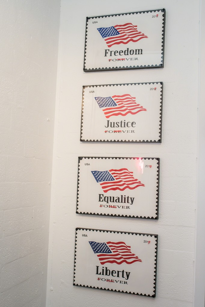 Freedom, Justice, Equality, Liberty