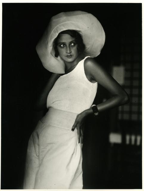 , 'Renée, Biarritz, August,' 1930, ElliottHalls