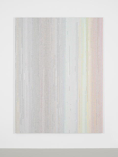 , 'Stochastic Process Painting 8,' 2014, Campoli Presti