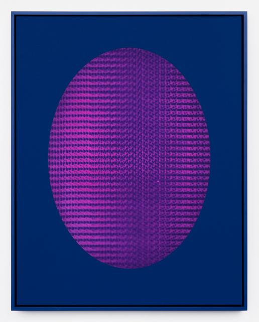 , 'Magenta LED (blue),' 2018, DOCUMENT