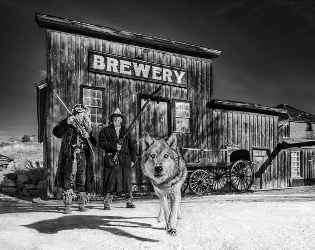 David Yarrow, 'Something's Brewing', 2019, Photography, Archival Pigment Print, Maddox Gallery