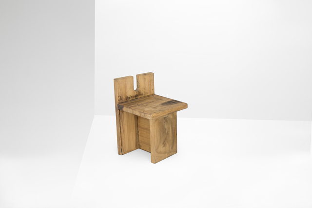 ", 'Pair of chairs model ""SESC Pompeia"",' 1980, Side Gallery"