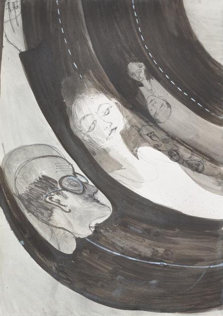 , 'Untitled (waves),' 2015, Dawid Radziszewski