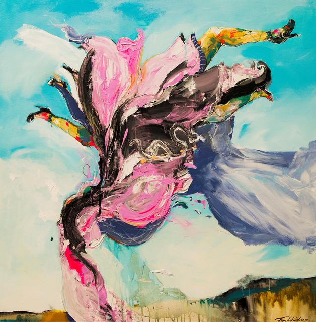 Frank David Valdés, 'Unas musas visitaron la Tierra / Muses visited the Earth', 2020, Painting, Acrilyc on canvas, ArteMorfosis - Cuban Art Platform