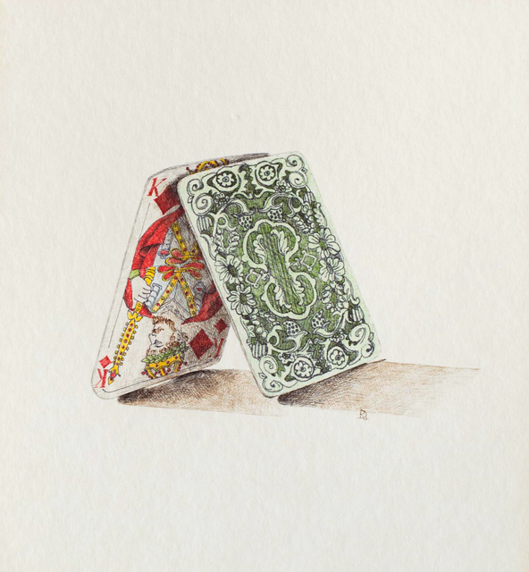 , 'Card Hut,' 1969, Allan Stone Projects