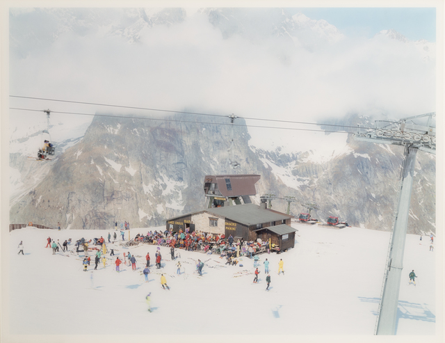 Massimo Vitali, 'Mont Blanc (Image #34) from Landscapes with Figures', 2006, RoGallery