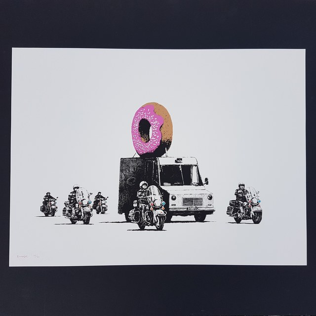 Banksy, 'Donuts Strawberry', 2009, Castle Gallery