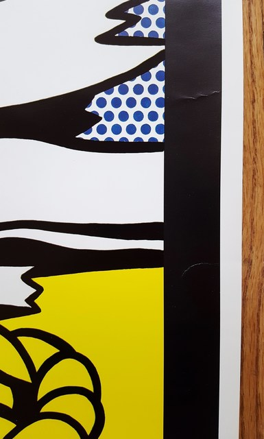 Roy Lichtenstein, 'The West as Art', 1982, Print, Offset-Lithograph, Exhibition Poster, Graves International Art