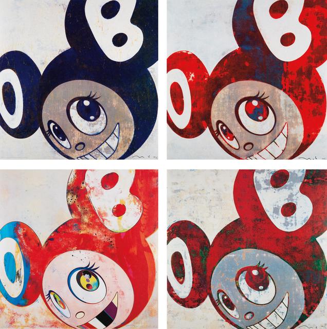 Takashi Murakami, 'And then, and then and then and then and then; And then, and then and then and then and then; And then, and then and then and then and then; And then, and then and then and then and then', 1996, Phillips