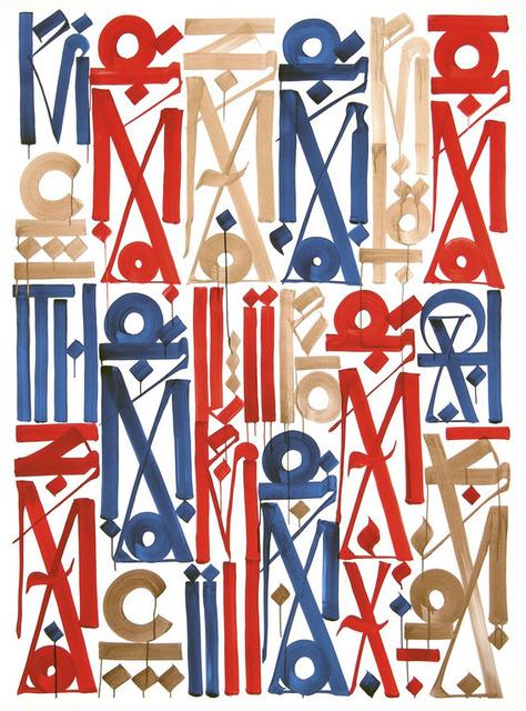 RETNA, 'Braddock Tiles', 2013, Dope! Gallery