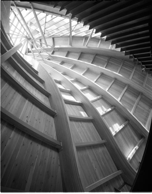 Pedro E. Guerrero, 'United Church of Rowayton, Roof Detail, Rowayton, CT', 1962, Edward Cella Art and Architecture