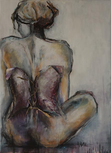 Roxana Portal, 'Arkana XXI', 2019, Painting, Mixed media on canvas, ACCS Visual Arts