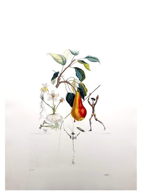 "Salvador Dalí, 'Original Lithograph ""Flordali - Pear of Don Quixote"" by Salvador Dali', 1969, Galerie Philia"