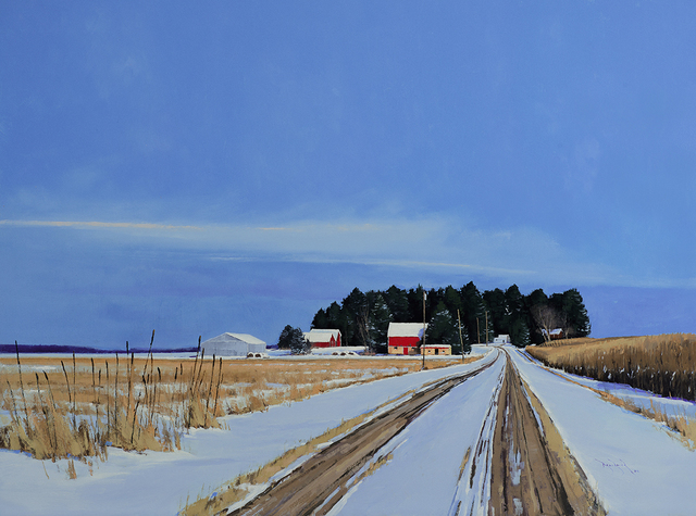, 'County Road 4 Farmstead,' 2016, Rehs Contemporary Galleries