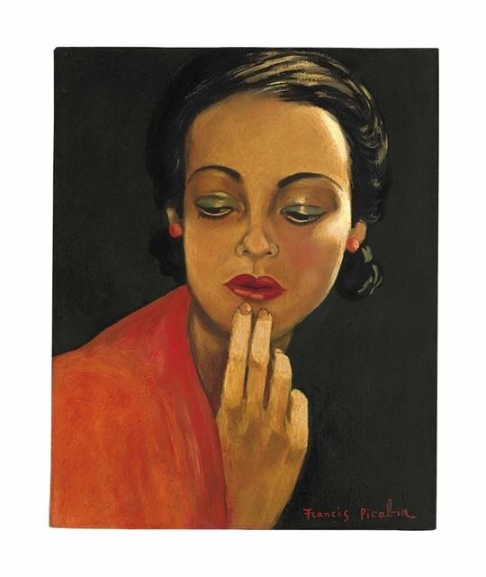 Francis Picabia, 'Sans titre (Visage de femme)', 1941-1943, Christie's