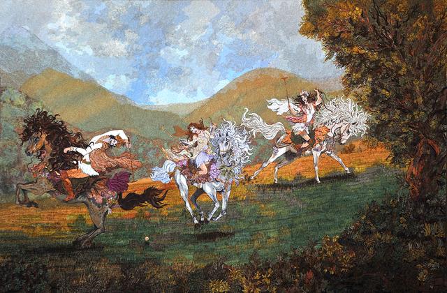 , 'Polo,' 2014, Anna Laudel
