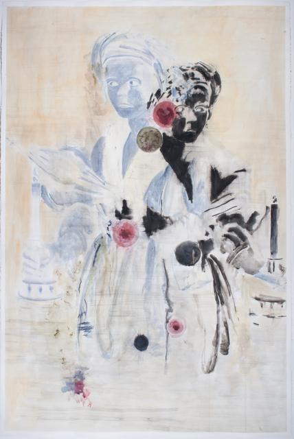 , 'Die Kerzenträgerin ,' 2018, Galerie Gisela Clement