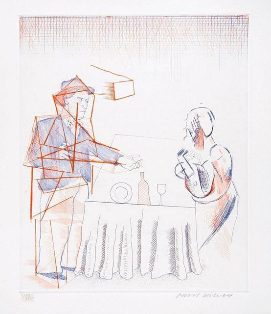 , ''Figures with Still Life' (from The Blue Guitar)    ,' 1977, Tanya Baxter Contemporary