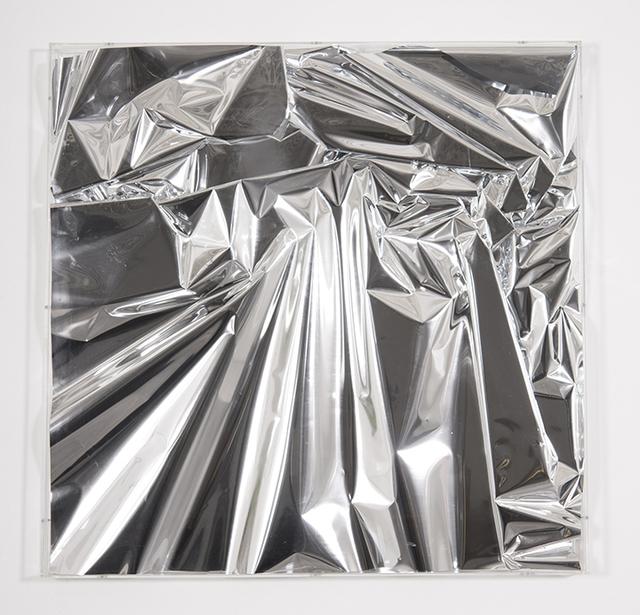 , 'Mylar silver 1,' 2017, Galleria Ca' d'Oro