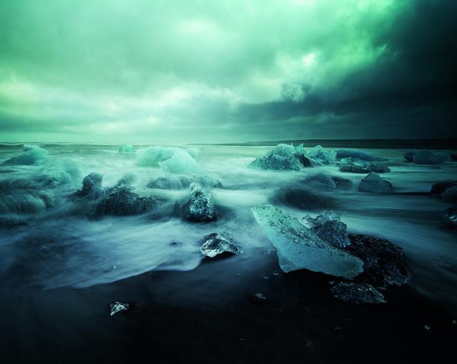 , 'Storm, Jökulsarlon Iceland,' 2014, SCHEUBLEIN + BAK