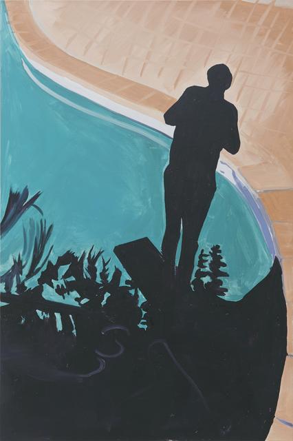 , 'Self Portrait, Pool,' 2016, Philipp von Rosen Galerie