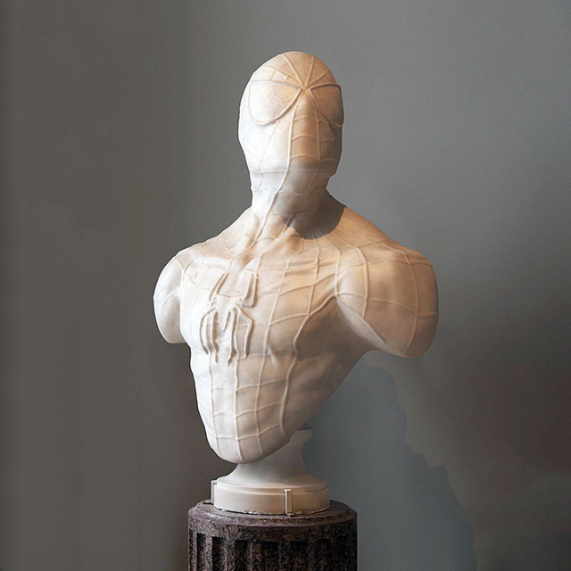 Léo Caillard, 'Heroes in Stone (Spiderman)', 2018, Zemack Contemporary Art