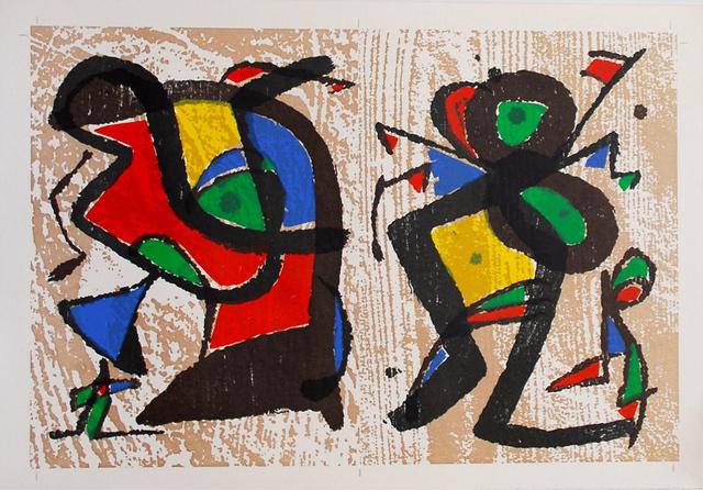 Joan Miró, 'untitled', 1983, Sylvan Cole Gallery