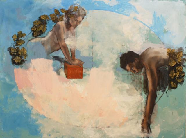 , 'Looking Back,' 2020, Albemarle Gallery