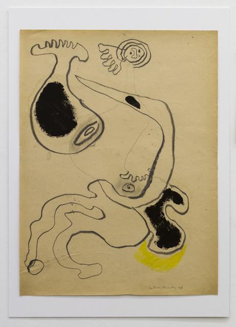 , 'GEDRÜCKT,' 1948, Galerie Elisabeth & Klaus Thoman