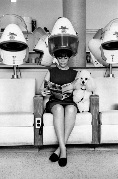 , 'Women with poodle,' 1964, Lumiere Brothers Gallery
