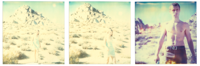 Stefanie Schneider, 'Aimless - It all began quite simply I was very happy -', 2003, Photography, Analog C-Prints, hand-printed by the artist on Fuji Crystal Archive Paper, based on 3 Polaroids, mounted on Aluminum with matte UV-Protection, Instantdreams