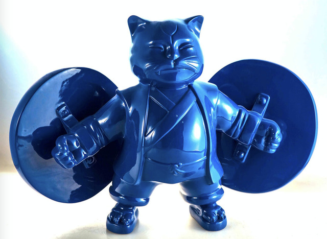 Hiro Ando, 'Warriorcat Blue', Eternity Gallery