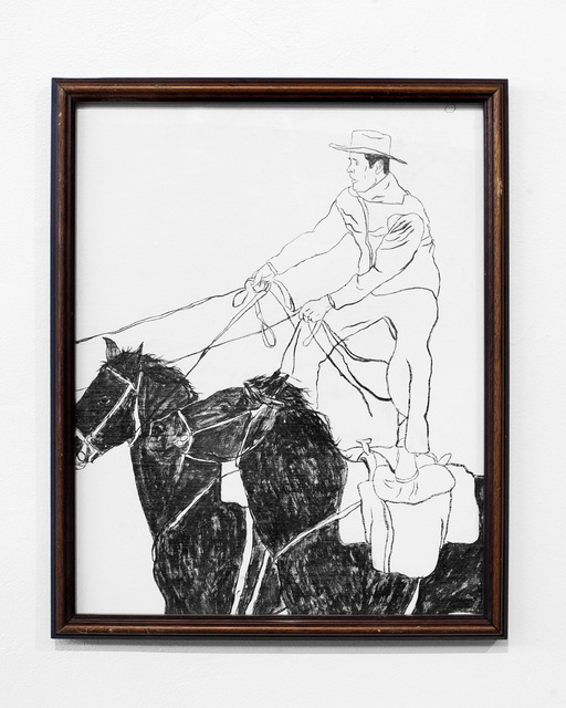 "Oliver Hawk Holden, '""Cowboy Series #2""', 2019, First Amendment"