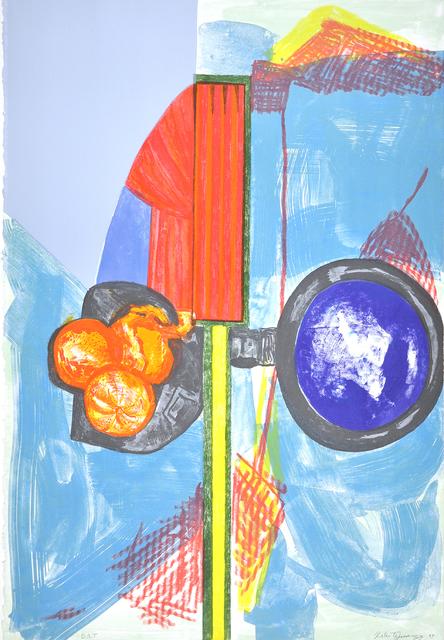 , 'Orange Stoplight,' 2017, Shark's Ink.
