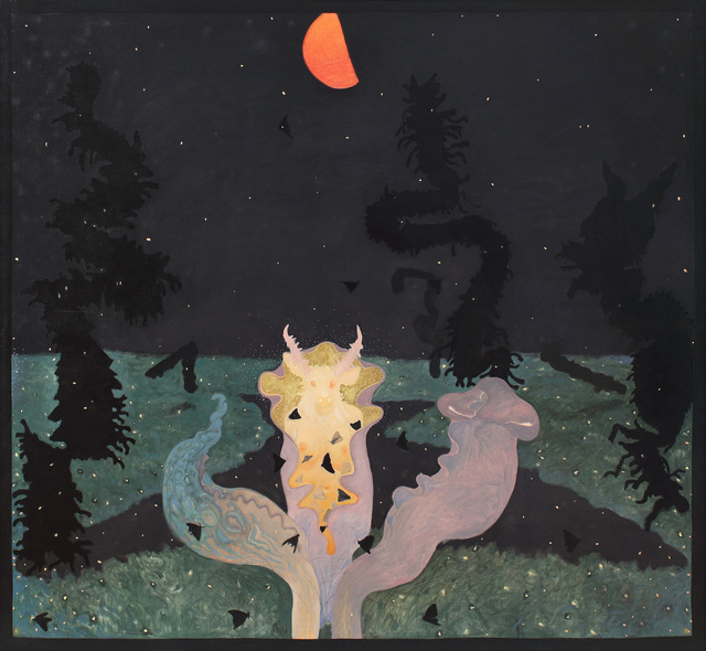, 'Feeding the Pitcher Plant,' 1971, Alexandre Gallery