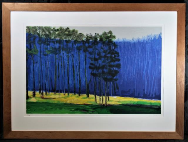 Wolf Kahn, 'Dark Pines', 2001, Washington Color