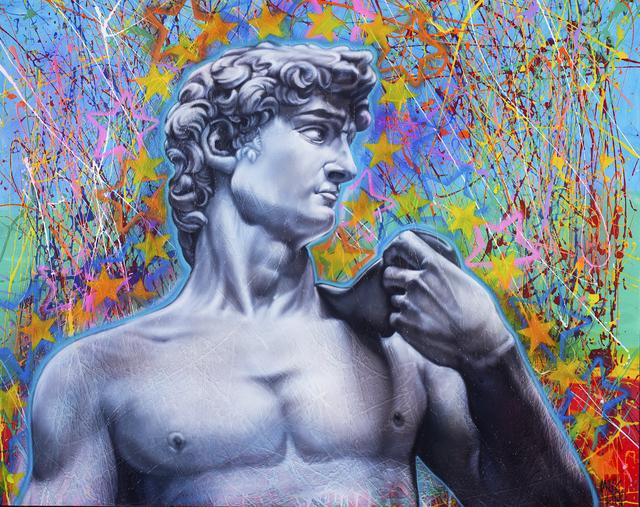 , 'David Stars,' , Blue Gallery